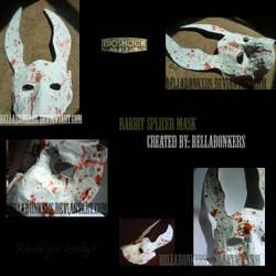 Bioshock: Rabbit Splicer Mask by BellaBonkers