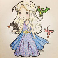 Dany Targaryen by megantha