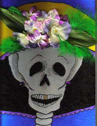 Laughing Catrina by graveinimages
