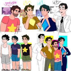 Steven Universe - Children of Diamonds by ArmaniaMothe