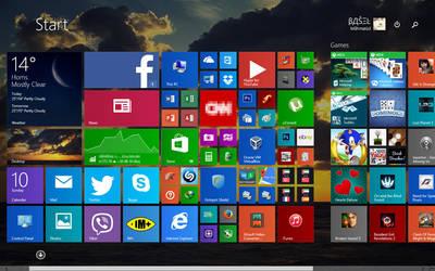My Desktop .-.. by BaselMahmoud