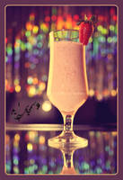 strawberry milkshake by Jiah-ali