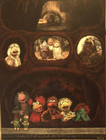 Down At Fraggle Rock! by SivART1981