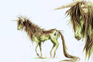 Unicorn Kelpie by eoghankerrigan