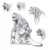 Tusked Troll by eoghankerrigan