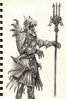 Knight 22 by eoghankerrigan