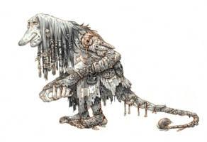 Troll lady by eoghankerrigan