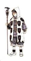 Inktober #5 - Little warlock by eoghankerrigan