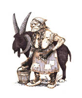 Inktober #16 - Witch by eoghankerrigan
