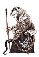 Inktober #17 - Troll watch by eoghankerrigan