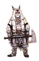 Inktober #20 - Barbarian by eoghankerrigan