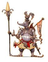 Inktober #27 - Knight by eoghankerrigan