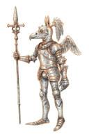 Bird armour by eoghankerrigan