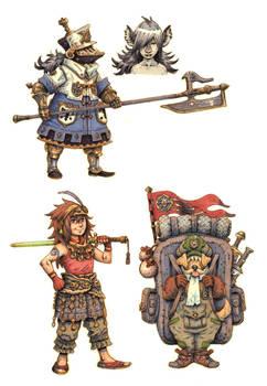 JRPG Characters 2 by eoghankerrigan