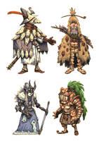 JRPG Characters 8 by eoghankerrigan