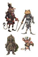 JRPG Characters 12 by eoghankerrigan