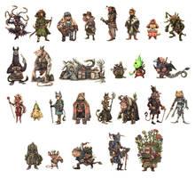 JRPG Characters Part 2 by eoghankerrigan