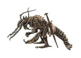 Crayfish knight by eoghankerrigan