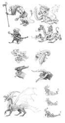 Doodles 3 by eoghankerrigan