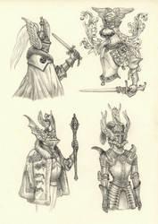 Knights by eoghankerrigan