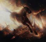 The Burning Horse by JoakimEricsson