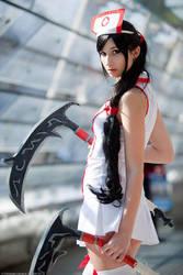 Akali Nurse Cosplay by TanitaOsaki