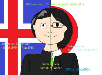 Different men different race Same cancer by OffClaireBlue2001