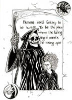Terry Pratchett's Susan and DEATH by MichaelLThomas