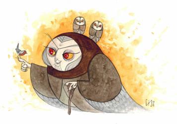 Owl Witch by Lychnobia
