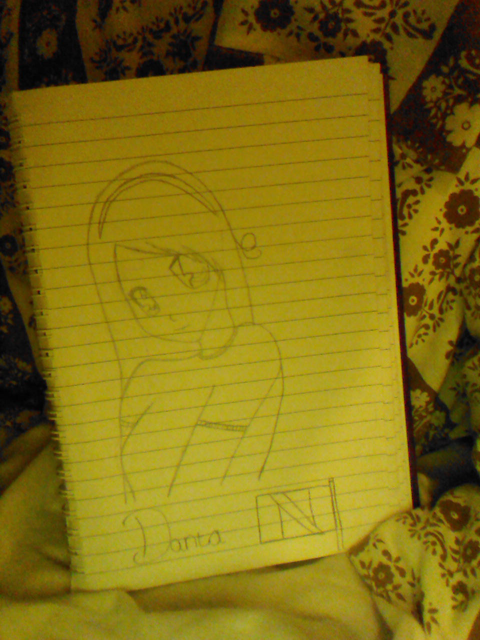 my drawing of dantania by dantania-dan