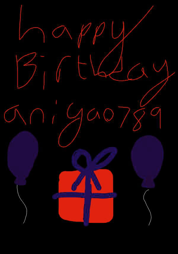 Happy soon to be birthday aniyao789!!! by dantania-dan