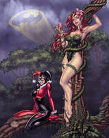 Harley/Ivy Colors By Stacy Raven by broken-nib