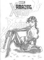 Domino Sketch Cover Pencils by broken-nib