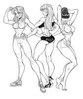 Workout Girls Inked by broken-nib