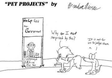 'Pet Projects' Lemonade Stand by BrandonPierce
