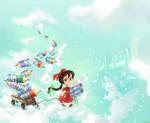 story book illustration by eydii