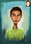 Portrait Commission by eydii