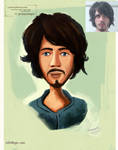 cartoon-Character-portrait-commission series 2 by eydii