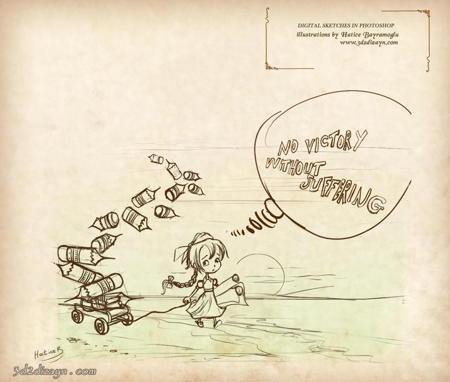 3d2dizayn Hatice Storybook Paragraph Illustration- by eydii