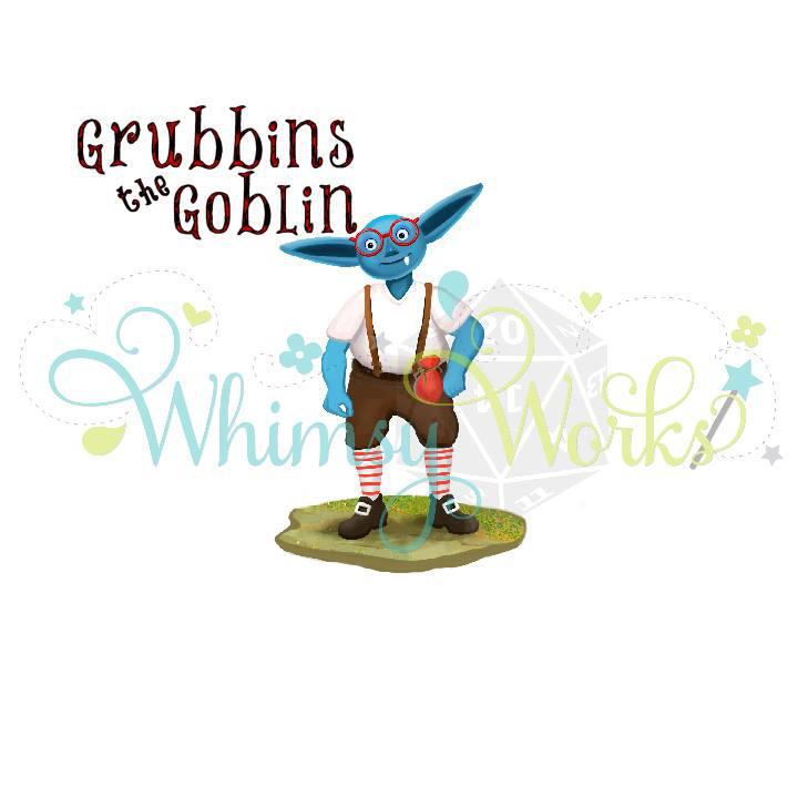 Blue Goblin Paintig By Eydii by eydii