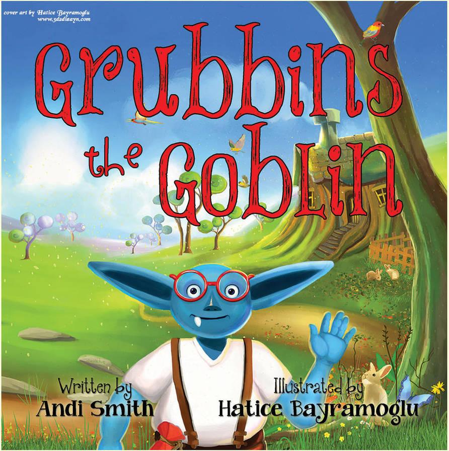 GrubbinsCover book cover art- design by eydii by eydii