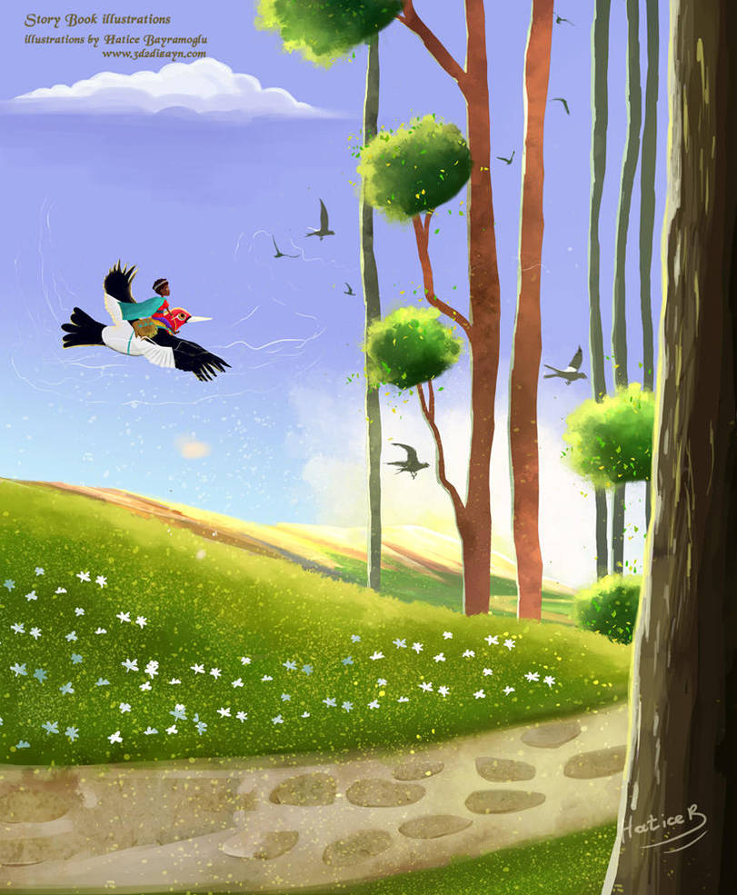 children's book illustrations by eydii