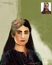 Girl portrait by eydii