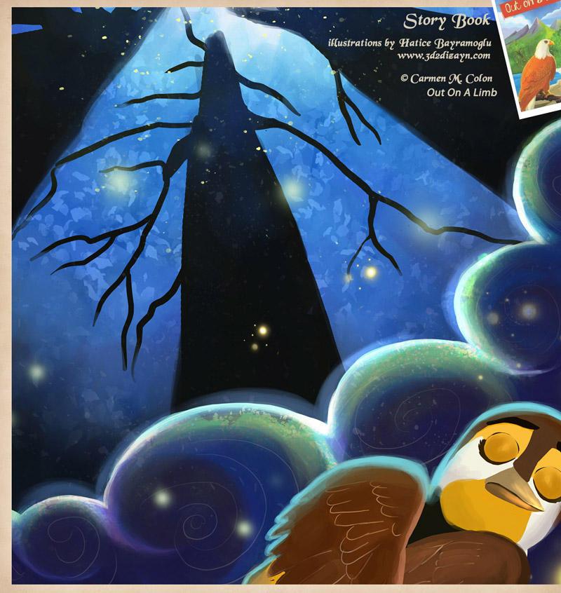 Bird dreaming story book by eydii