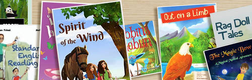 Story book cover and design  illustrations by eydii