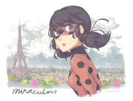 Ladybug by littleevilaccident