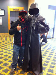 Me and Organization XIII member(Mechacon 2013) by Hound-02