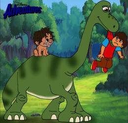 The Good Dinosaur Retold: Wrong way Ken by Gloverboy23