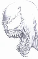 Venom quick sketch by WesleyJames1985
