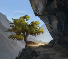 Pilgrim tree by MrFloki